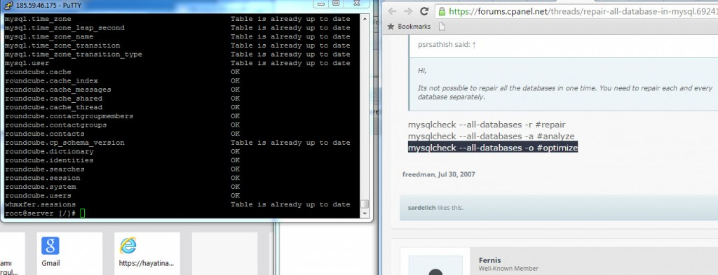 SQL onarma ve optimizasyon (4)