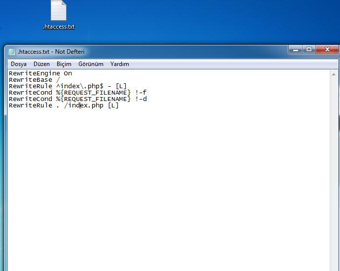htacces dosyası oluşturma (1)