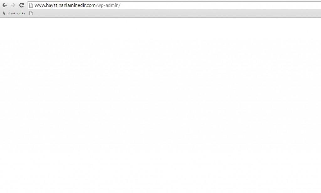 web sitesinde beyaz sayfa hatası (1)